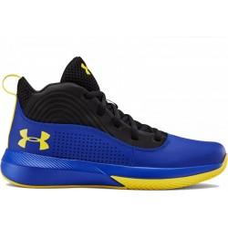 Παιδικό παπούτσι μπάσκετ Under Armour Lockdown 4 GS blue