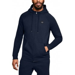 Under Armour Rival Fleece FZ Hoodie navy