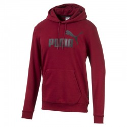 Puma Essentials Hoody TR Big Logo red