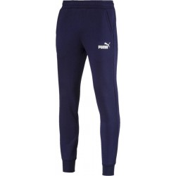 Puma Essential Logo Pants Fleece blue