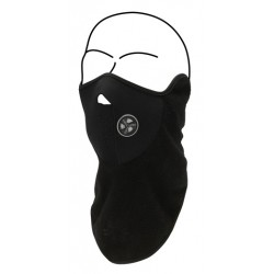 Face mask fleece black