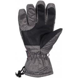 Γάντια σκι ανθρακί/ροζ