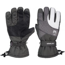 Ski Gloves anthracite/white