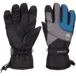 Ski Gloves anthracite/blue