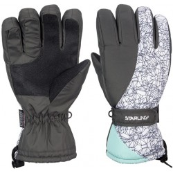 Ski Gloves mint/anthracite/white