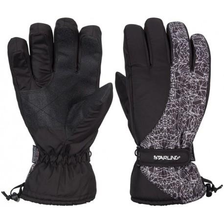 Γάντια σκι λευκό/μαύρο