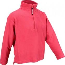 Ski pullover micro fleece pink