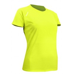 Sport T-Shirt women's yellow