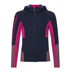 HEAD MADELYN MIDLAYER FZ WOMEN'S dark blue/pink