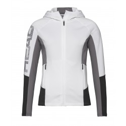HEAD Midlayer Madelyn FZ Women's white