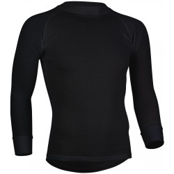 Thermal Shirt Long Sleeve Men's black Avento