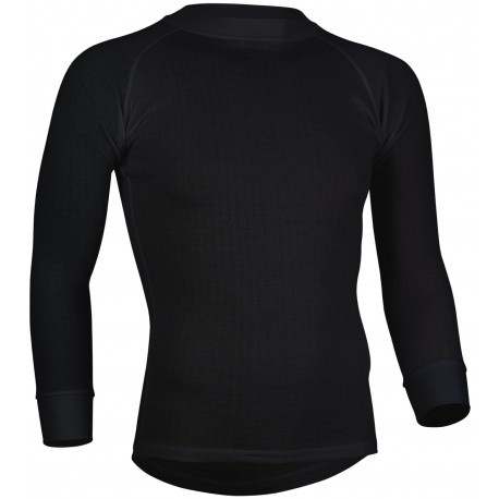 Thermal Shirt Long Sleeve Men's black Avento