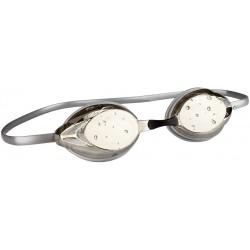 Swimming Goggles Racing silver grey Avento