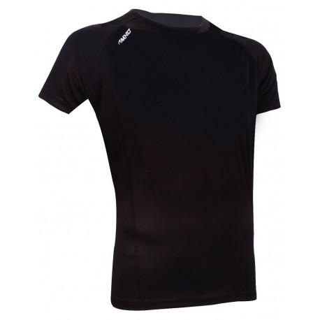 Ανδρικό αθλητικό μπλουζάκι μαύρο