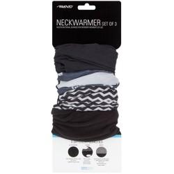 Neck Warmer Set Men's black/anthracite/white