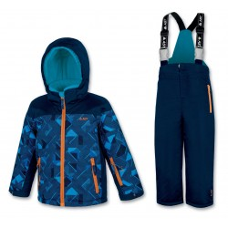 Kid's ski set blue ASTROLABIO