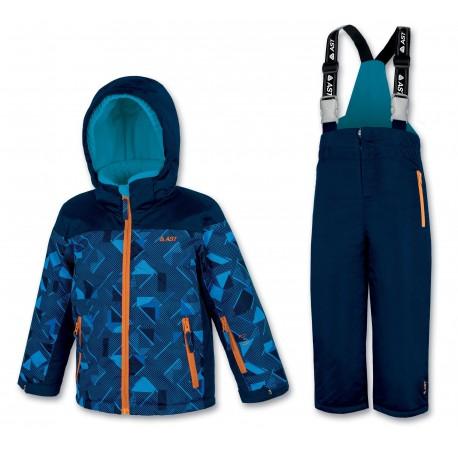 Kid's ski set blue ASTROLABIO