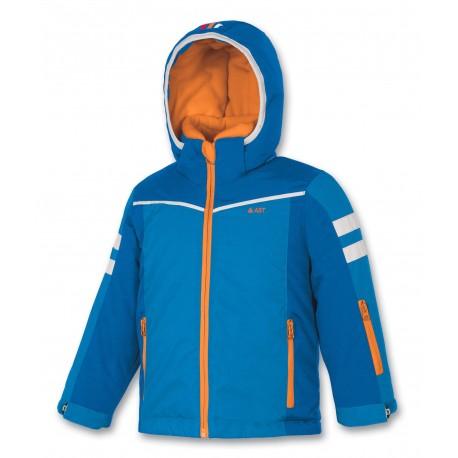 Παιδικό μπουφάν σκι ASTROLABIO μπλε/πορτοκαλί
