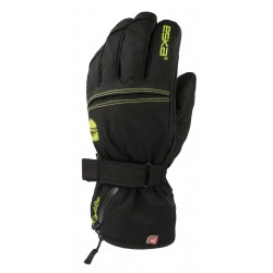 Adult's Gore-Tex skiing glove ESKA blk/yell