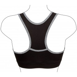 Sports Bra Black/grey Avento