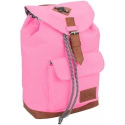 Backpack pink/grey Abbey