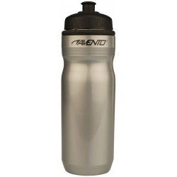 Sports Bottle silver grey/black Avento