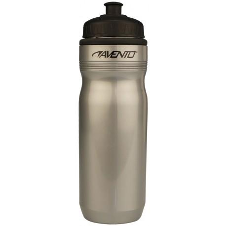 Sports Bottle silver grey/black Avento