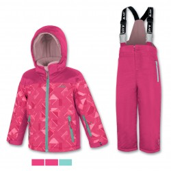 Kid's ski set pink ASTROLABIO