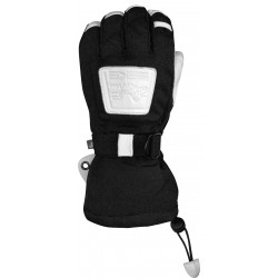 Ski Gloves Waterproof ESKA black/white
