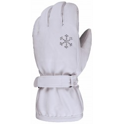 Women's Ski Glove Waterproof ESKA white
