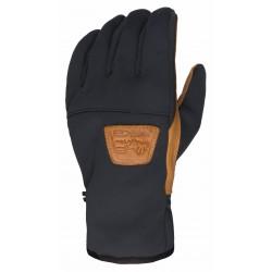 Men's Multifunctional glove ESKA black/camel