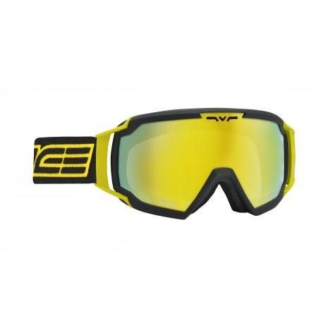 Ski Goggles Charcoal Yellow Double Antifog Salice