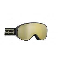 Ski Goggles Salice Double Antifog Mirror blk/gold