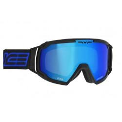 Ski Goggles Salice Double Antifog Vented Mirror blk/bl