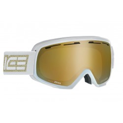 Ski Googles Double Antifog Vented Mirror Salice wh/gold