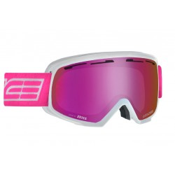 Ski Goggles Double Antifog Vented Mirror Salice wh/purple