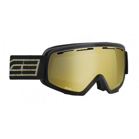 Ski Goggles Double Antifog Vented Mirror Salice blk/gold