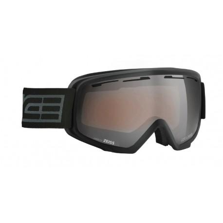 Μάσκα σκι με διπλό αντιθαμβωτικό καθρέφτη Salice blk