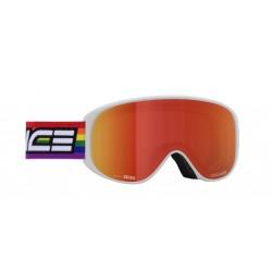 Ski Goggles Double Antifog Mirror Salice red