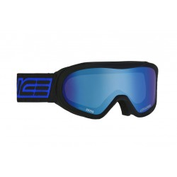 Ski Goggles Double Antifog Mirror Salice blue