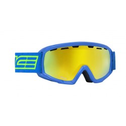 Jounior Ski Goggles Double Antifog Vented Mirror Salice light bl/yell
