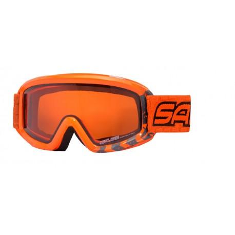 Junior Ski Goggles Double Antifog Salice orange