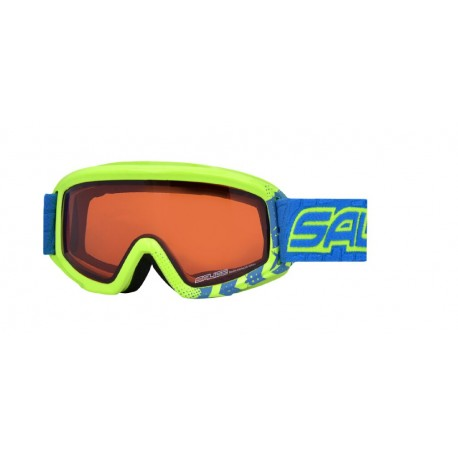 Jounior Ski Goggles Double Antifog Salice lime/orange