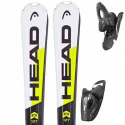 HEAD SKI Supershape Team + bindings