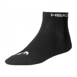 Κάλτσες HEAD quarter black (3 pairs)