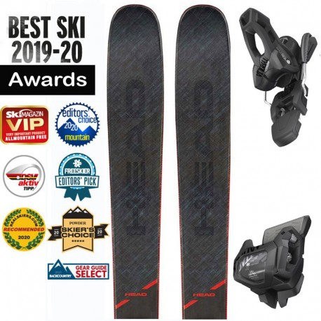 Ski HEAD Kore 99 grey + ATTACK 11 (2020)