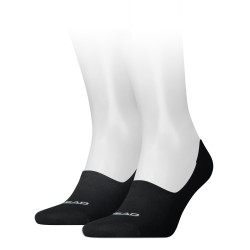 Socks Footie black (2 pairs)