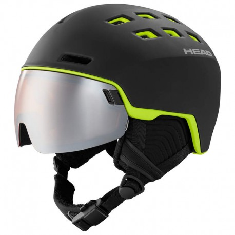 HEAD SKI HELMET RADAR black/lime (2021)