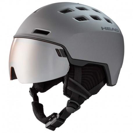 HEAD SKI HELMET RADAR graphite/black (2021)