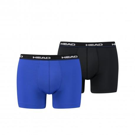 HEAD Men's Boxer blue/black (2 pack)